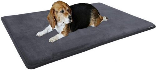 Dogbed4less Premium Gel-Infused Memory Foam Pet Mat