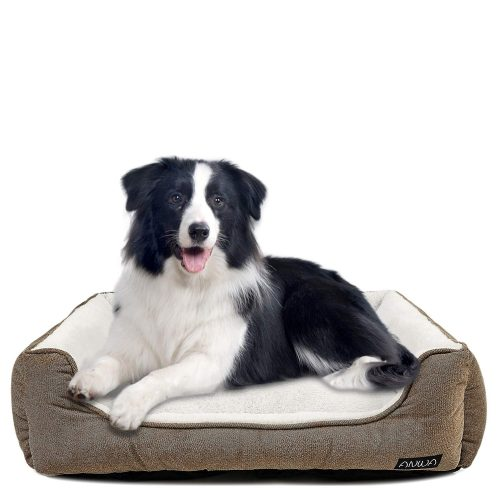 ANWA Durable Dog Bed Machine Washable Medium Dog Bed