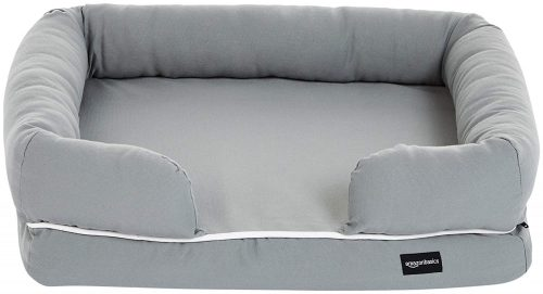 AmazonBasics Pet Sofa Lounger Bed Pad for Cats and Dogs