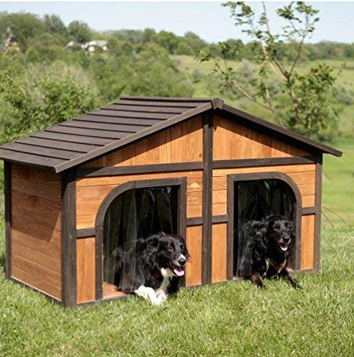 Merry Products Extra Large Solid Wood Dog Houses