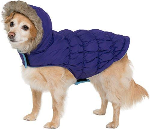 Friends Forever Small Dogs Sherpa and Quilted Winter Vest - warm dog coats