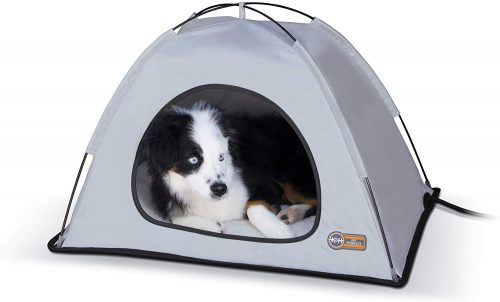 K&H Pet Products Thermo-Tent Outdoor Heated Pet Shelter for Dogs & Cats