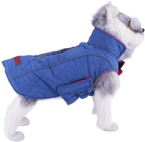 ThinkPet Warm Reversible Dog Coat