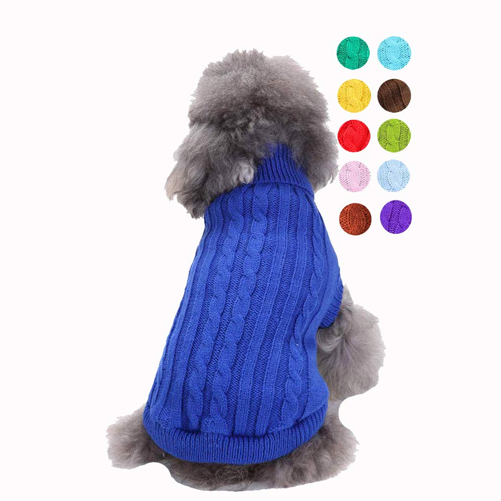 Dog Sweater, Warm Pet Sweater, Dog Sweaters