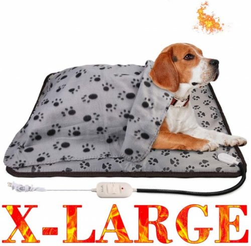 wangstar Heat Pad for Pet Dog Cats Indoors Safety - dog electric blanket