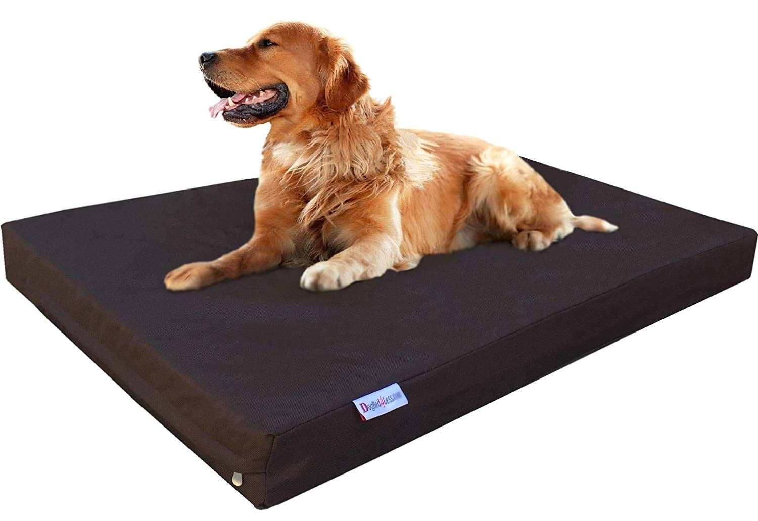 Dogbed4less Heavy Duty Memory Foam Dog Bed