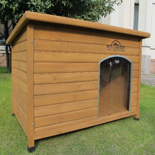 Pets Imperial Extra Large Insulated Wooden Norfolk Dog