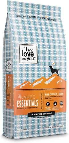 """I and love and you"" Naked Essentials Dry Dog Food"
