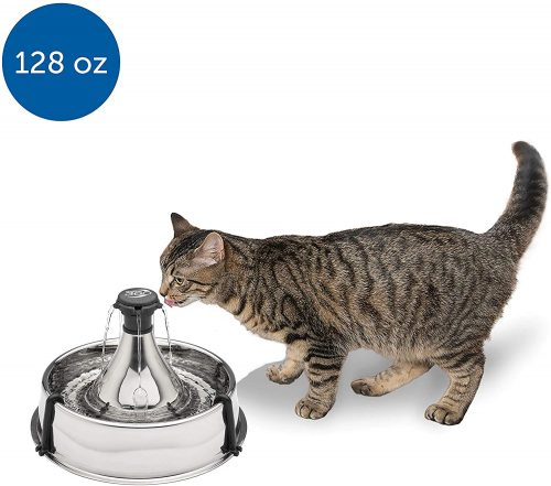 PetSafe Drinkwell Stainless Multi-Pet Fountain
