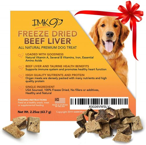 All Natural Beef Liver Treats Freeze Dried