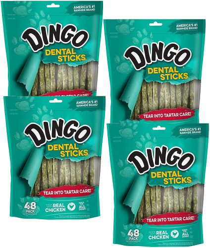 Dingo Dental Sticks for Tartar Control, 192-Count