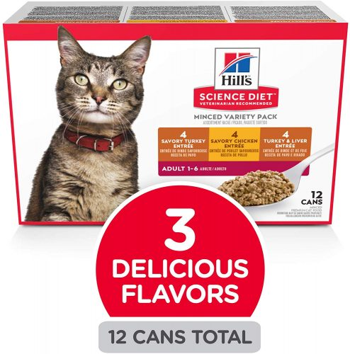 Hill's Science Diet Wet Canned Cat Food