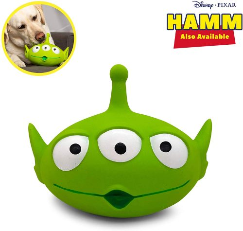Hyper Pet Disney Toy Story 4 Interactive Super Squeaker Dog Toy