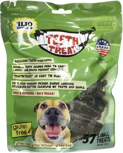 Ilio Dentals Teeth Treat Healthy Dog Dental Treats,