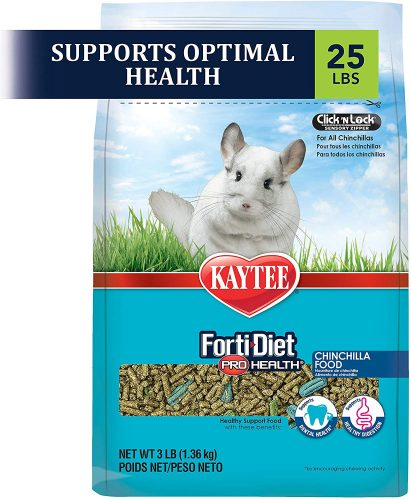Kaytee Forti Diet Pro Health Small Animal Food For Chinchillas