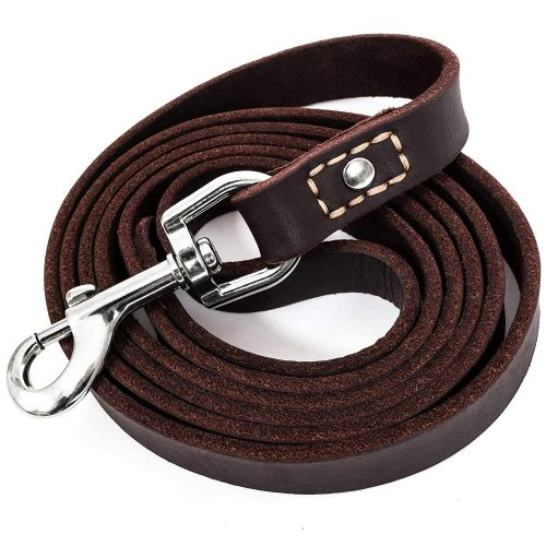 LEATHERBERG Leather Dog Training Leash