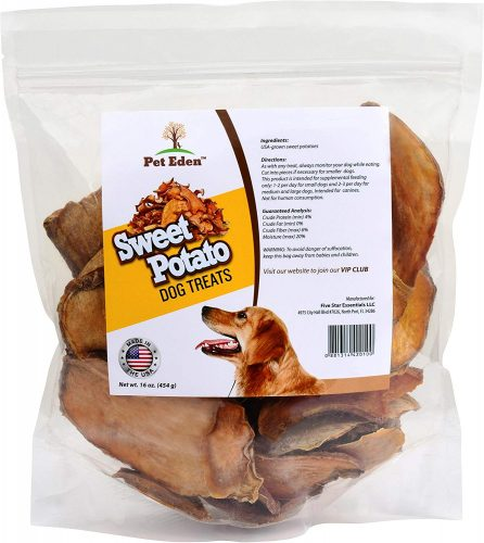 Pet Eden Sweet Potato Dog Treats