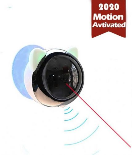 PetDroid Boltz Motion Activated Cat Laser Toy Automatic,