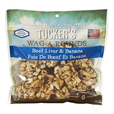 Tuckers Wag-A-Rounds Beef Liver