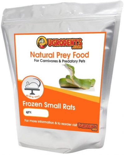 UGRodents 20-Pack Frozen Small Rats