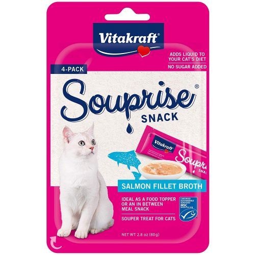 Vitakraft Souprise Snack Fillet Broth Treats for Cats