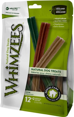 Whimzees Natural Grain Free Dental Dog Treats