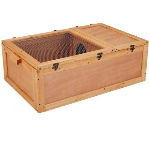 Unipaws Chinese Fir Wood Tortoise House