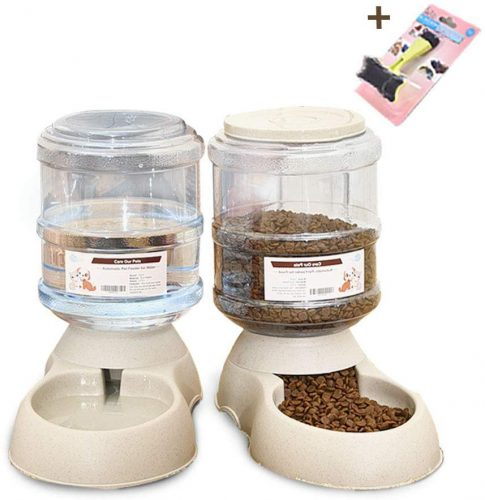 XIAPIA Automatic Food Feeder and Water Dispenser