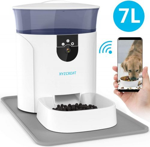 Automatic Dog Feeder with Camera | smart pet feeders