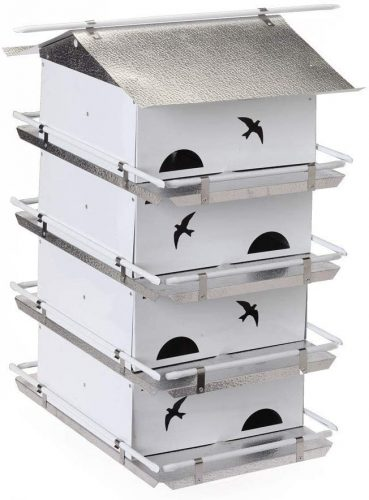 Birds Choice PMW4 Starling Resistant Purple Martin House