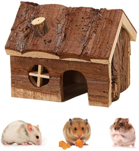 Wontee Hamster Wooden House