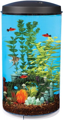 Koller Products AquaView 6 Gallon 360 Fish Tank
