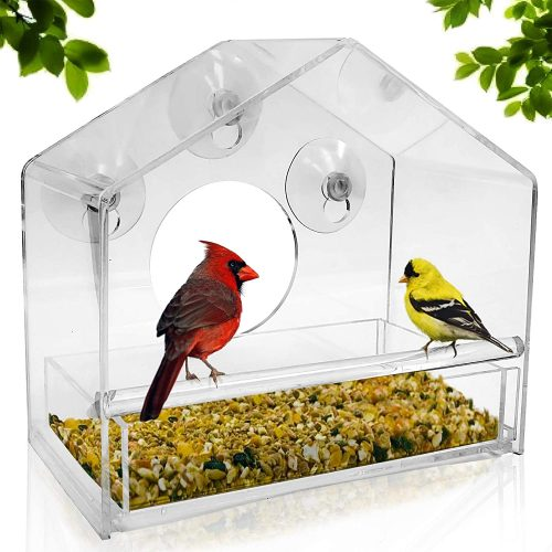 Nature Gear Window Bird Feeder
