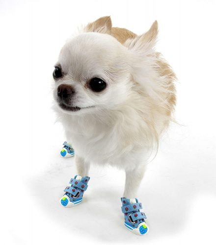 Naughty Puppy- Cute Strawberry Dog Booties