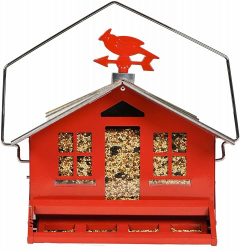 Perky-Pet 338 Squirrel-Be-Gone II Country House Bird Feeder