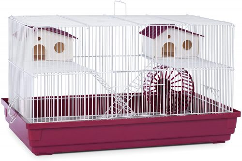 Prevue Hendryx Deluxe Hamster and Gerbil Cage - hamster travel cages