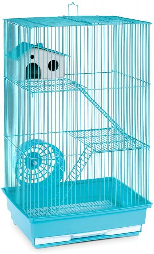 Prevue Pet Products Three-Story Hamster & Gerbil Cage - hamster travel cages