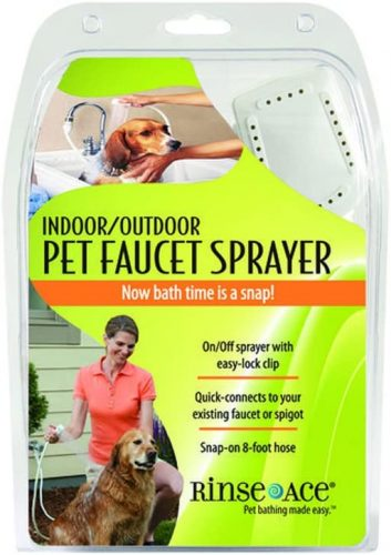 Rinse Ace Indoor and Outdoor Pet Shower Sprayer