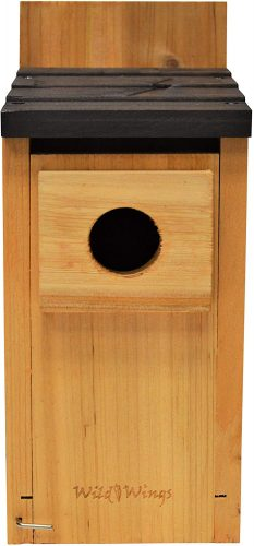 Wild Wings WWCH3 Cedar Blue Bird Box House
