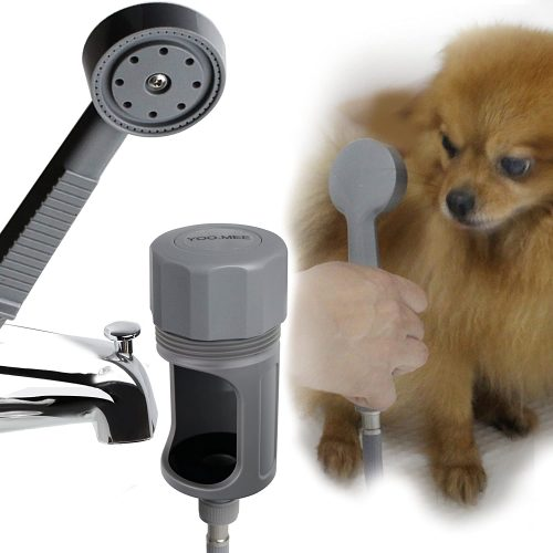 YOO.MEE Pets Shower Attachment, Quick Connect on Tub Spout