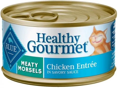 Blue Buffalo Natural Adult Meaty Morsels Wet Cat Food