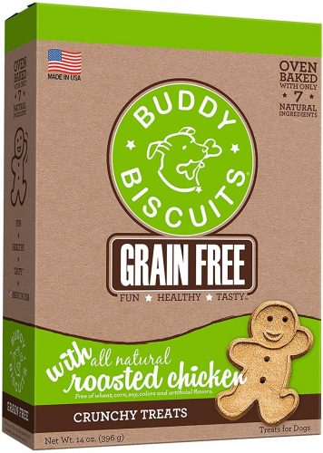 Buddy Biscuits, Grain Free Oven Baked Crunchy