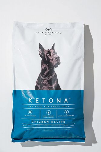 Ketona Chicken Recipe Dry Food for Adult Dogs - Diabetic Dog Foods