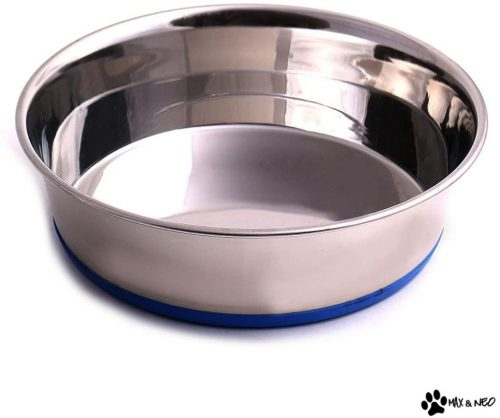 Max and Neo Stainless Steel Dog Bowl