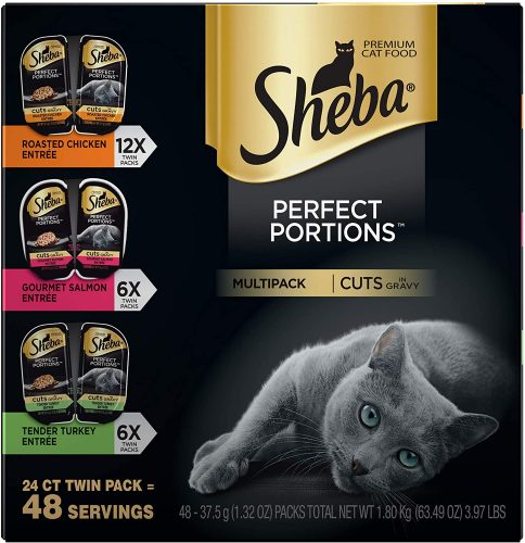 Sheba Perfect Portions Cuts in Gravy Wet Cat Food