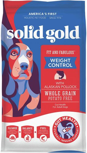 SOLID GOLD Holistic Weight Control Dog Food - Diabetic Dog Foods