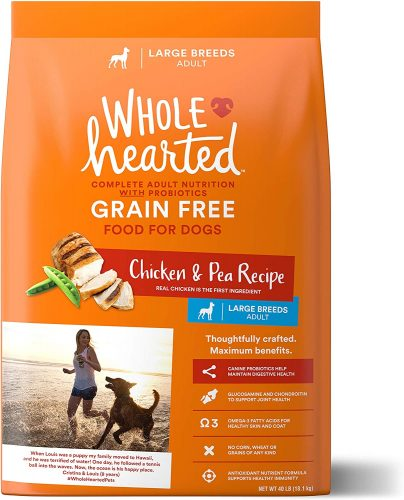 WHOLEHEARTED Adult Dry Dog Food - Diabetic Dog Foods