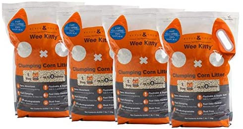 Rufus & Coco Wee Kitty Natural Cat Litter - Flushable Cat Litter