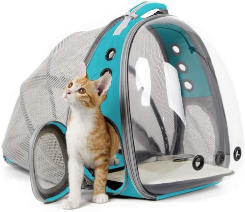 halinfer Expandable Cat Backpack
