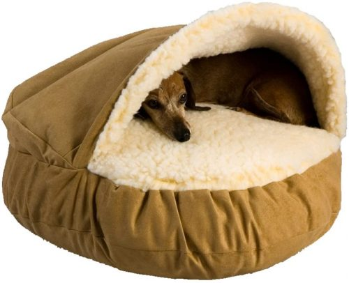 Snoozer Luxury Cozy Cave Pet Bed - Burrow Dog Bed
